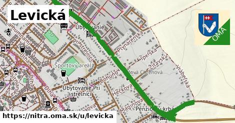 ilustrácia k Levická, Nitra - 1,61km