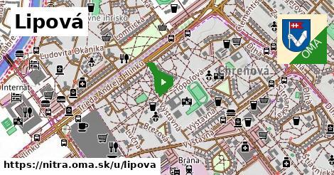 ilustrácia k Lipová, Nitra - 300m