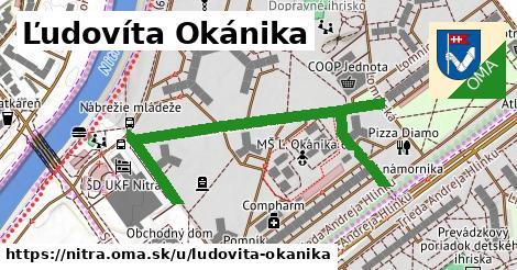 ilustračný obrázok k Ľudovíta Okánika, Nitra