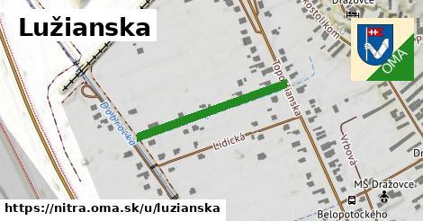 ilustračný obrázok k Lužianska, Nitra