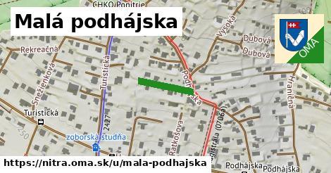 ilustračný obrázok k Malá podhájska, Nitra
