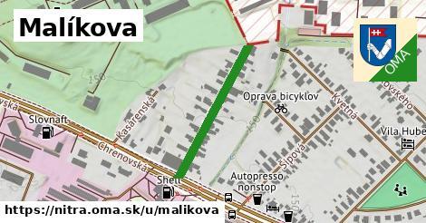 ilustračný obrázok k Malíkova, Nitra