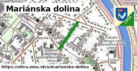 ilustračný obrázok k Mariánska dolina, Nitra
