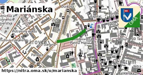 ilustračný obrázok k Mariánska, Nitra