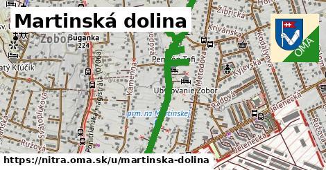 ilustračný obrázok k Martinská dolina, Nitra