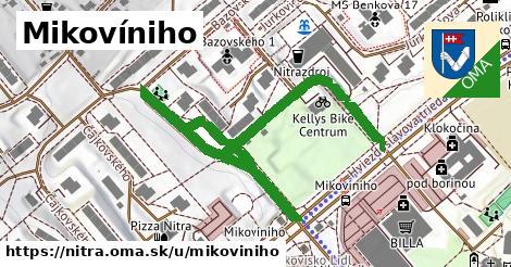 ilustrácia k Mikovíniho, Nitra - 619m