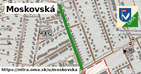 ilustrácia k Moskovská, Nitra - 365m