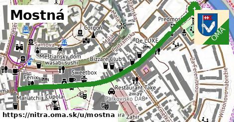 ilustrácia k Mostná, Nitra - 0,72km