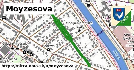 ilustračný obrázok k Moyzesova, Nitra