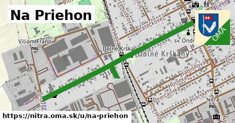 ilustrácia k Na priehon, Nitra - 1,08km