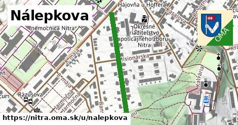 ilustrácia k Nálepkova, Nitra - 317m