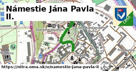 ilustrácia k Námestie Jána Pavla II., Nitra - 249m