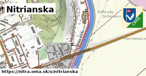 ilustrácia k Nitrianska, Nitra - 600m