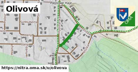 ilustrácia k Olivová, Nitra - 155m