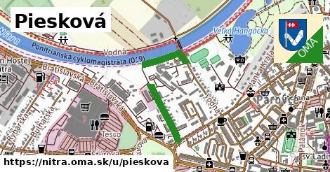 ilustrácia k Piesková, Nitra - 684m