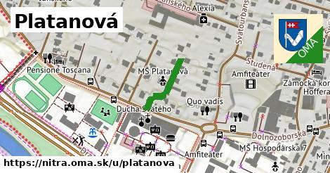 ilustrácia k Platanová, Nitra - 149m