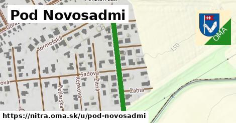 ilustrácia k Pod Novosadmi, Nitra - 328m