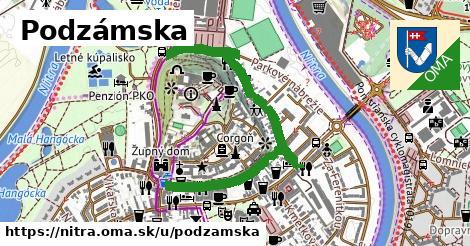 ilustrácia k Podzámska, Nitra - 1,12km