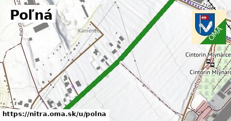 ilustračný obrázok k Poľná, Nitra