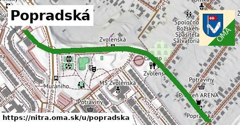ilustrácia k Popradská, Nitra - 0,70km