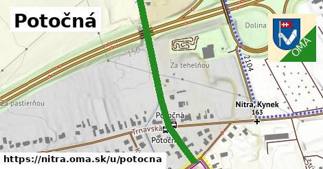 ilustrácia k Potočná, Nitra - 411m