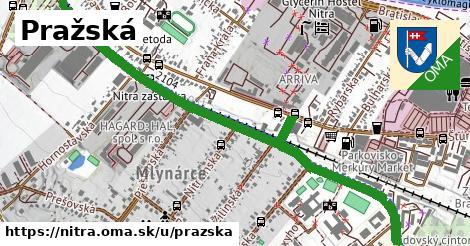 ilustrácia k Pražská, Nitra - 1,75km