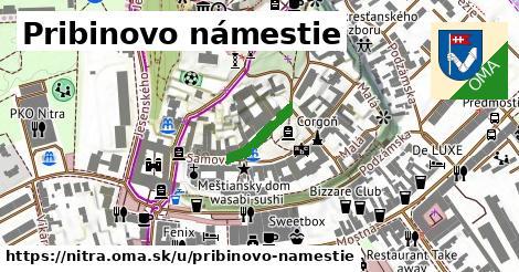 ilustrácia k Pribinovo námestie, Nitra - 124m