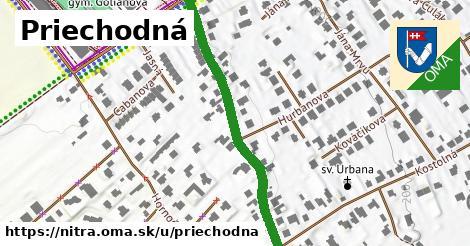 ilustrácia k Priechodná, Nitra - 434m