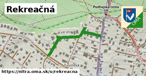 ilustrácia k Rekreačná, Nitra - 382m