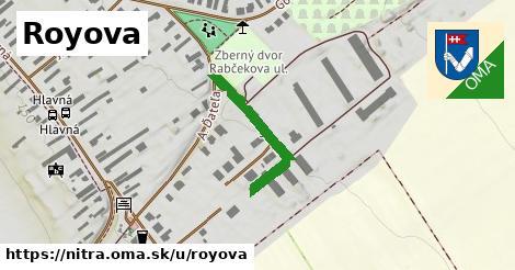 ilustračný obrázok k Royova, Nitra