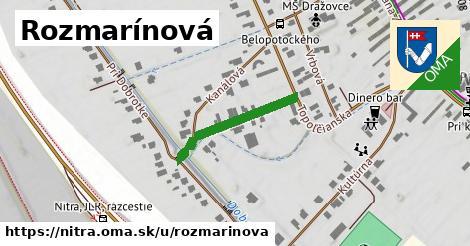 ilustrácia k Rozmarínová, Nitra - 219m