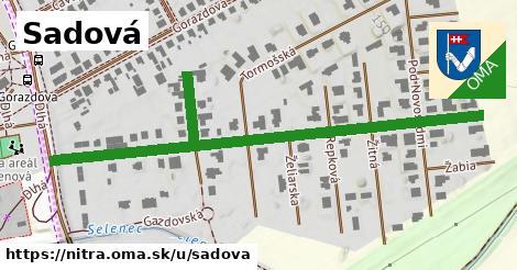ilustrácia k Sadová, Nitra - 320m