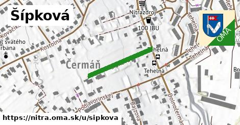 ilustrácia k Šípková, Nitra - 219m