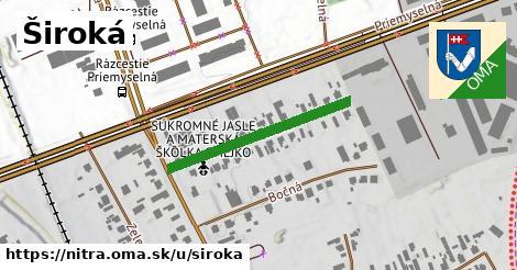 ilustrácia k Široká, Nitra - 282m