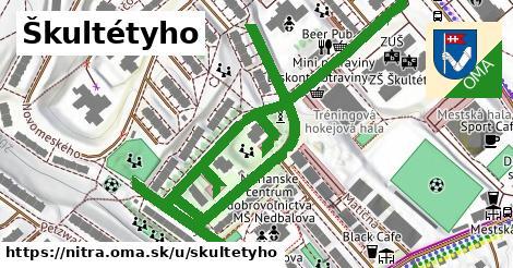 ilustrácia k Škultétyho, Nitra - 1,00km