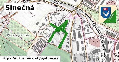 ilustrácia k Slnečná, Nitra - 495m