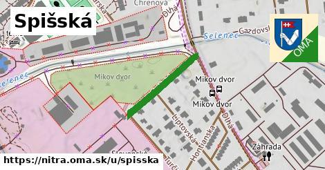 ilustrácia k Spišská, Nitra - 213m