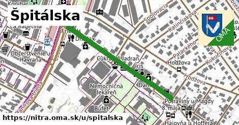 ilustračný obrázok k Špitálska, Nitra