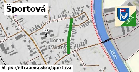 ilustračný obrázok k Športová, Nitra