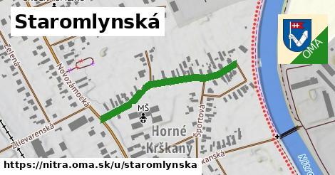 ilustrácia k Staromlynská, Nitra - 339m