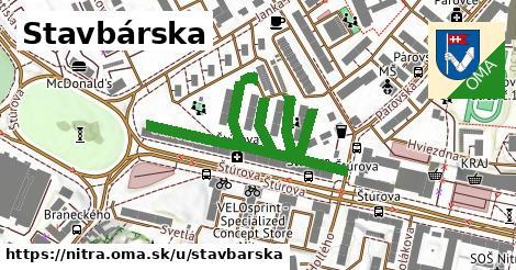 ilustrácia k Stavbárska, Nitra - 623m
