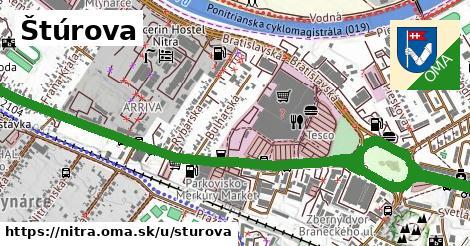 ilustrácia k Štúrova, Nitra - 5,3km