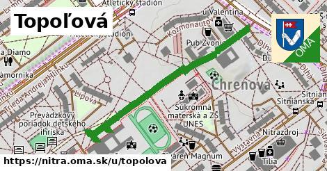 ilustrácia k Topoľová, Nitra - 522m