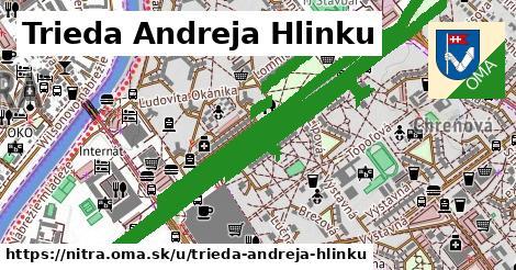 ilustrácia k Trieda Andreja Hlinku, Nitra - 5,4km