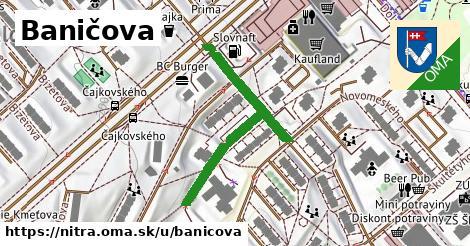 ilustrácia k Baničova, Nitra - 396m