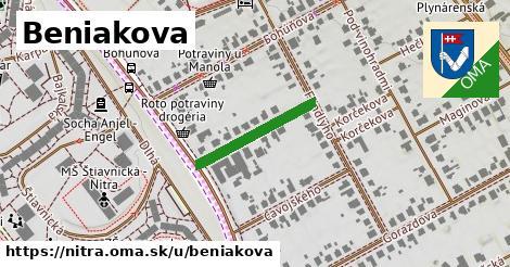 Beniakova, Nitra