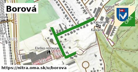 ilustrácia k Borová, Nitra - 466m