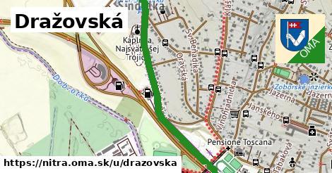 ilustrácia k Drážovská, Nitra - 4,9km