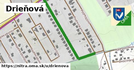 ilustrácia k Drieňová, Nitra - 492m