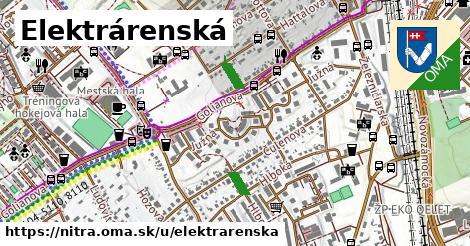 ilustrácia k Elektrárenská, Nitra - 174m